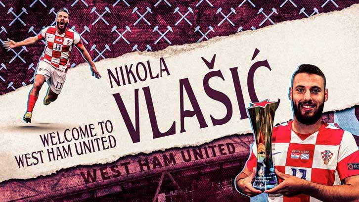 นิโกลา วลาซิช ถูกให้เป็น นิว โมดริช กับโอกาสที่ทำหน้าที่แทน เจสซี ลินการ์ด